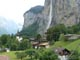 Lauterbrunnen to Staubbach fall